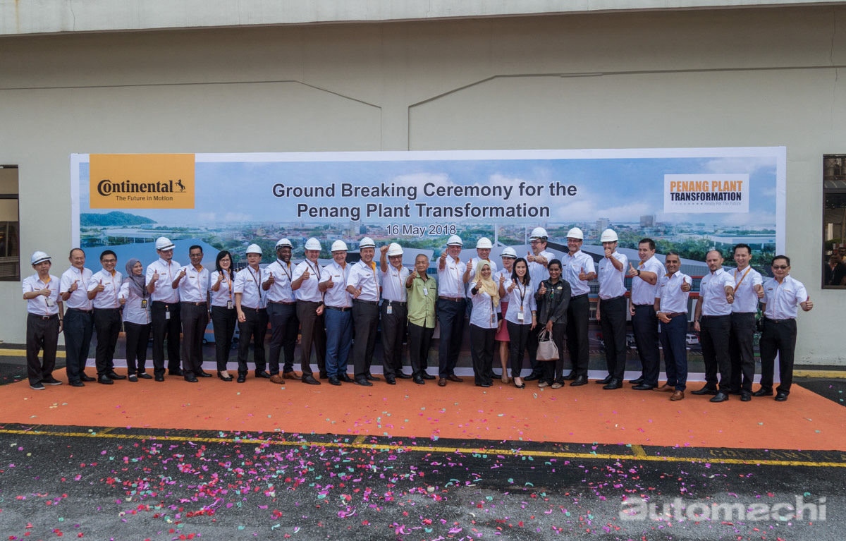 dsc0转型智能工厂, Continental Malaysia 巨资升级槟城生产线!4638