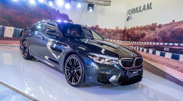 最强房跑! BMW M5 正式登陆我国,售价 RM 942,760!