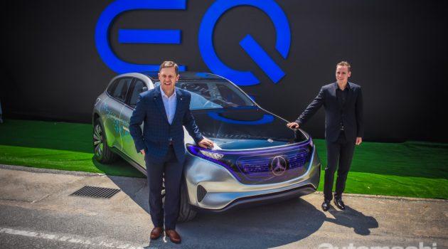 Mercedes-Benz EQ 正式发表,未来将主推节能环保!