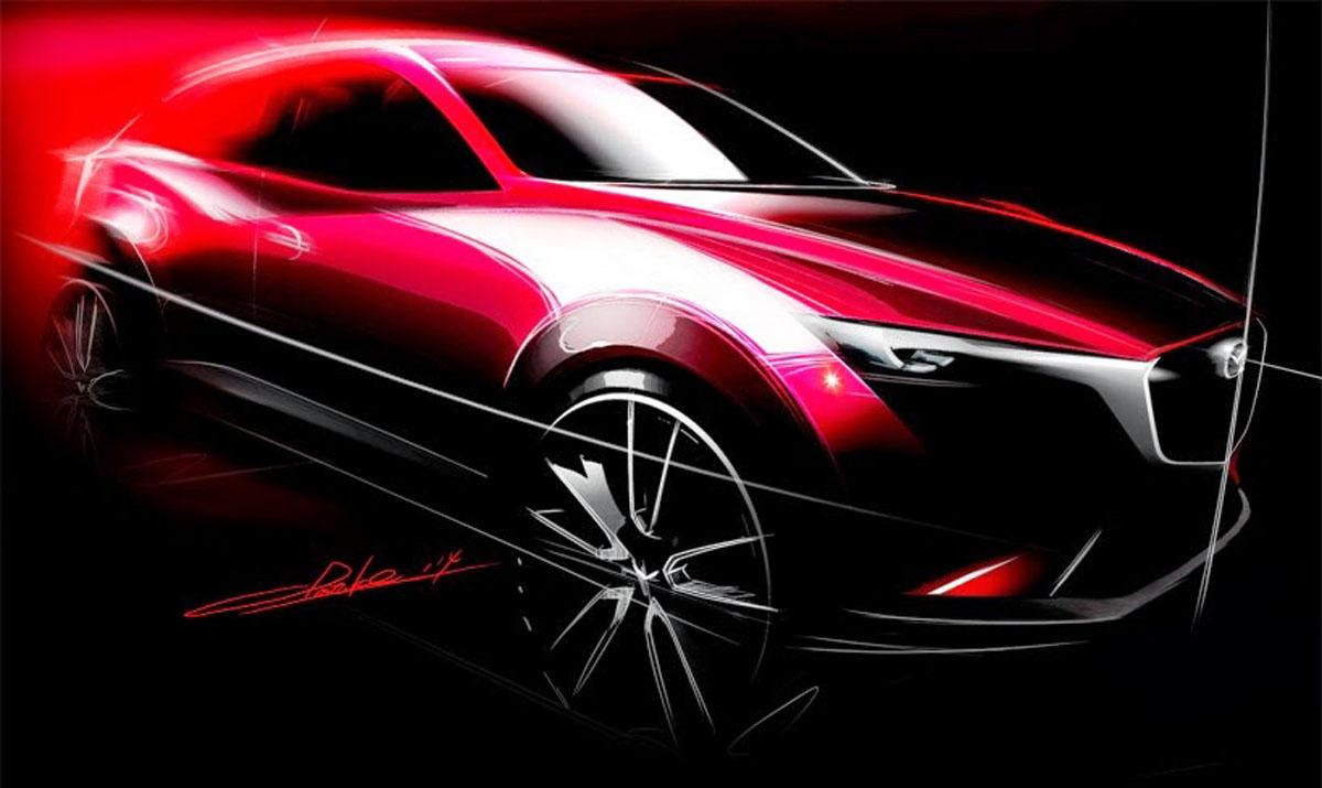 Mazda CX-3 大改款空间更大,操控更好?