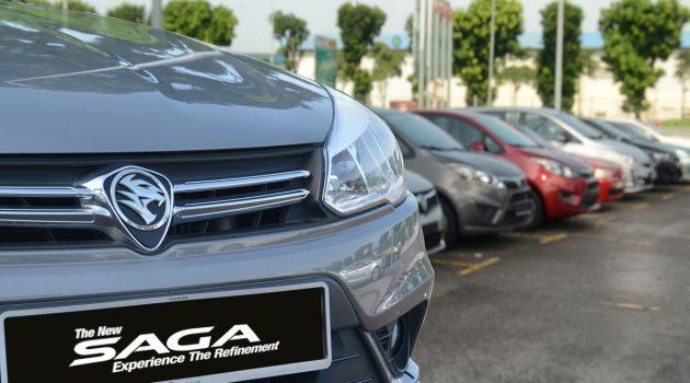 Proton 公布全新车价,现在 Saga RM 33,123.87即可入手!