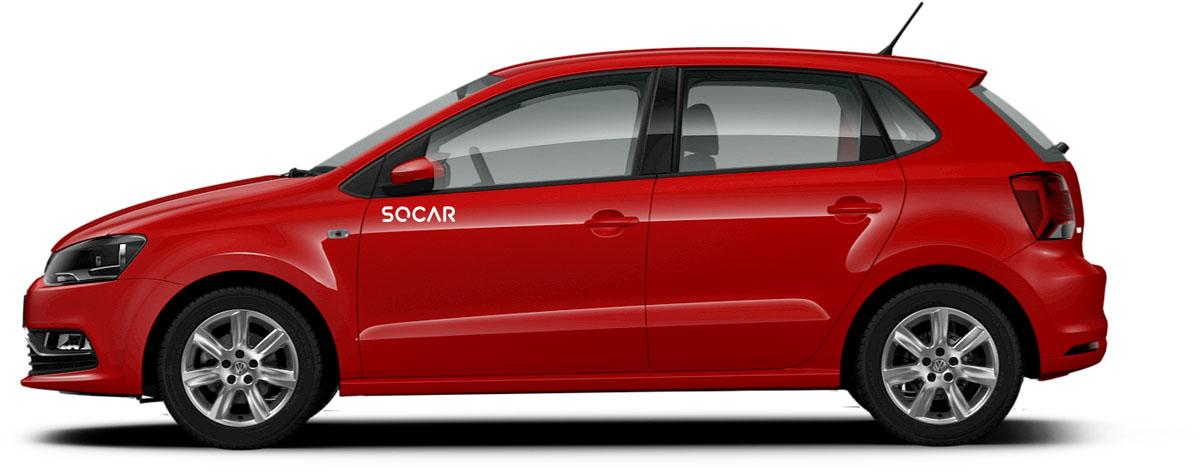 Volkswagen 宣布加入 SOCAR 共享汽车!