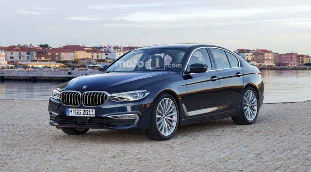BMW 3 Series G20 内装曝光,透露更多细节!