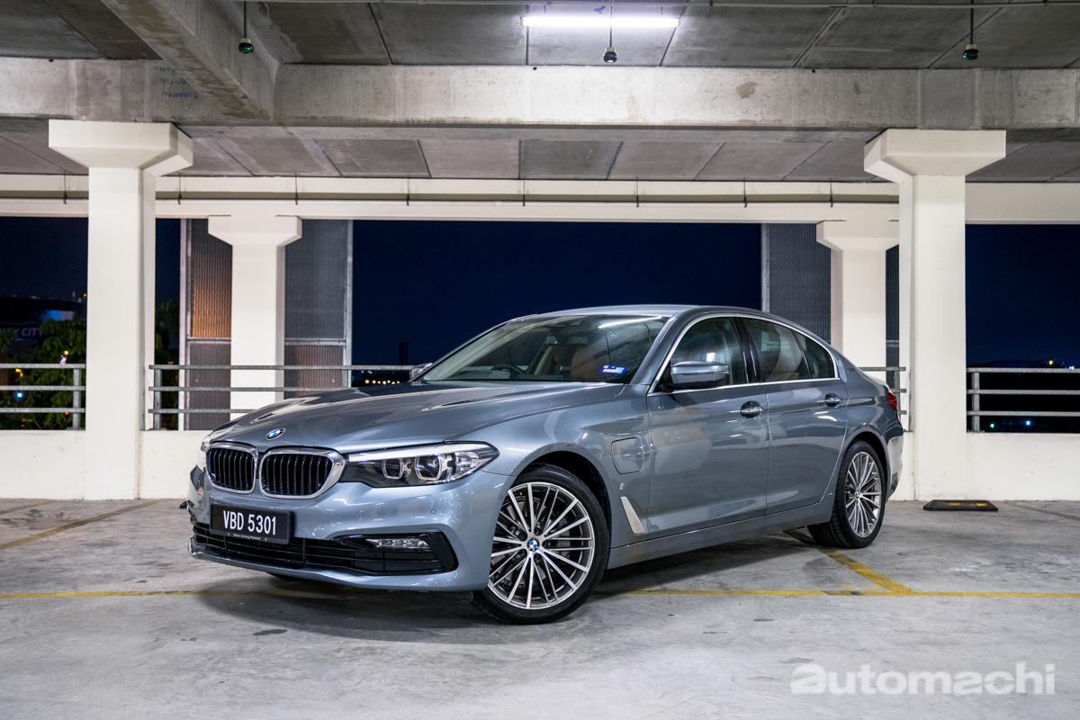 BMW 530e ,很好开的新世代节能房车!