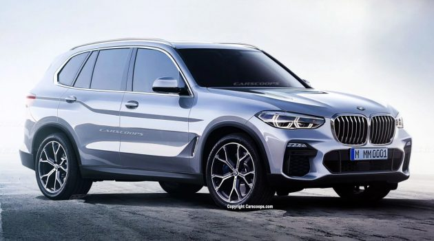 巨肾就是王道! 2019 BMW X5 今年巴黎车展亮相!