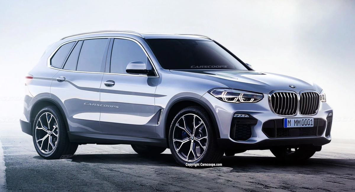 巨肾就是王道! 2019 BMW X5 料今年巴黎车展亮相!