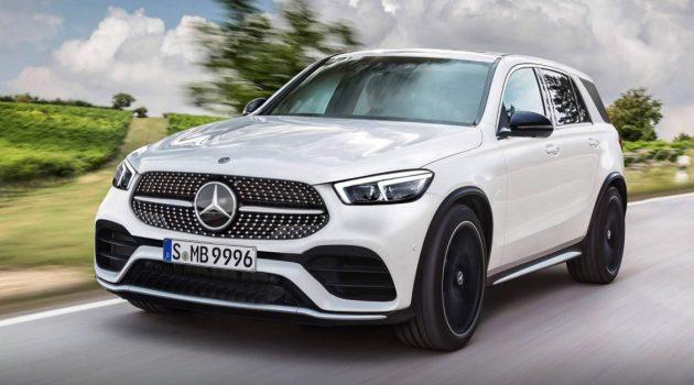 不一样的中控台! Mercedes-Benz GLE 内装首度曝光!