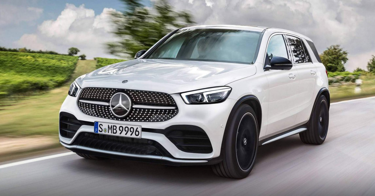 不一样的中控台! Mercedes-Benz GLE 内装首度曝光!