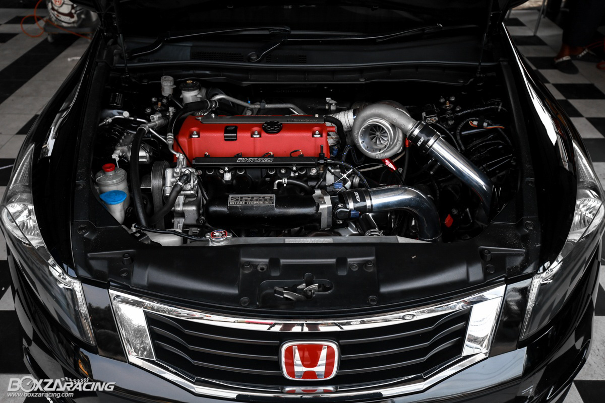 450 Hp 的日系房车, Honda Accord K24 Turbo ! Automachi Com