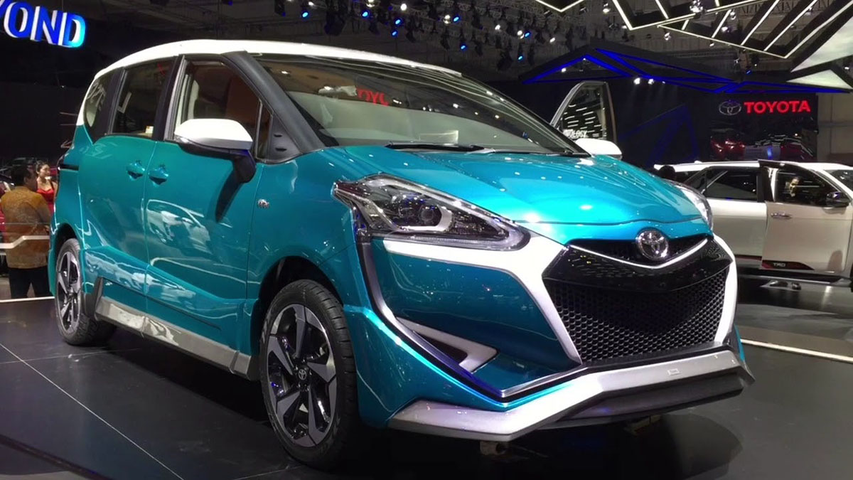 2018 Toyota Sienta 小改款7月登场!油耗28 km/L!