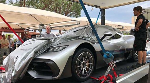 Mercedes-AMG Project One 量产版现身,最快2019年交付!
