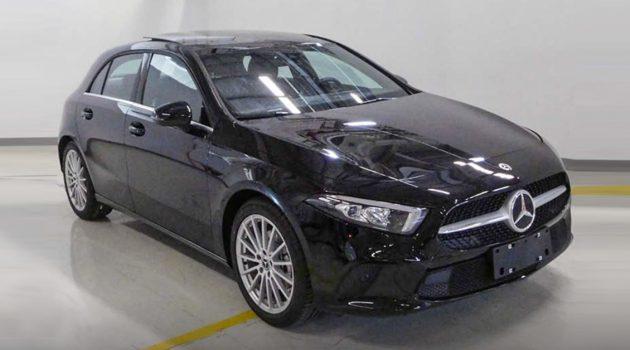 Mercedes-Benz A-Class 亚洲版现身,搭载 1.4L 涡轮增压引擎!