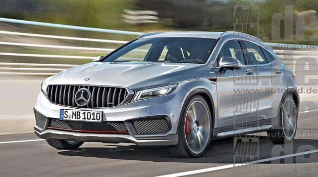 X2 最强对手,新一代 Mercedes-Benz GLA 现身测试!