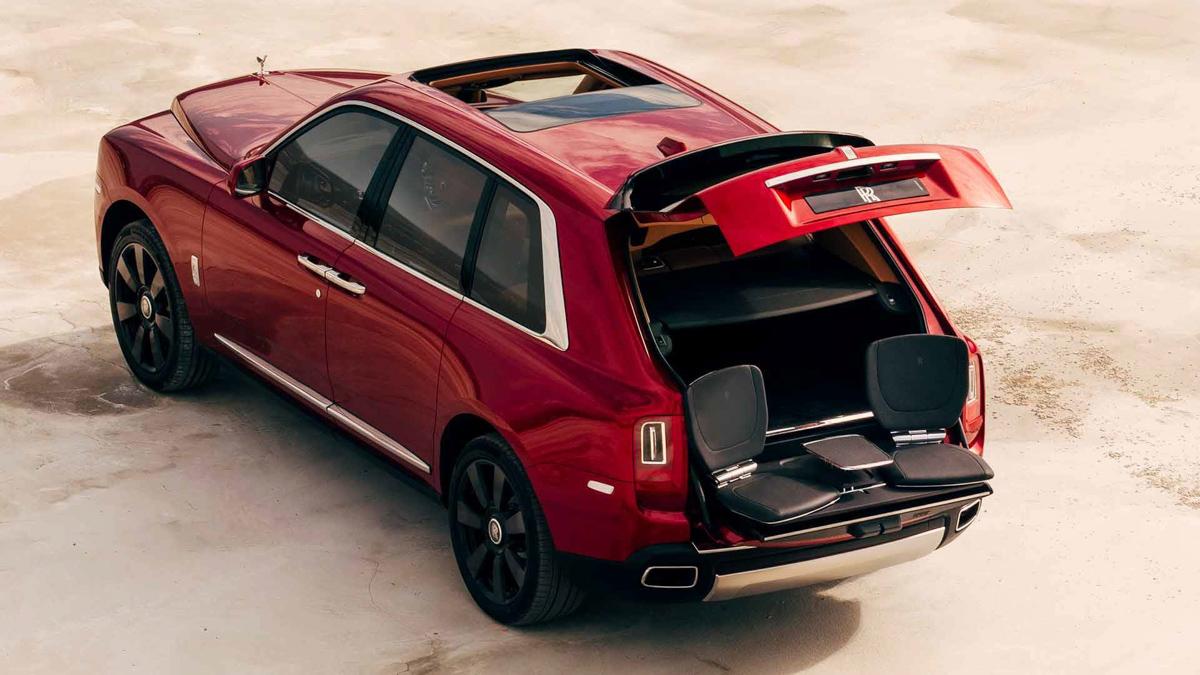 最奢华 SUV ! Rolls Royce Cullinan 正式发表!