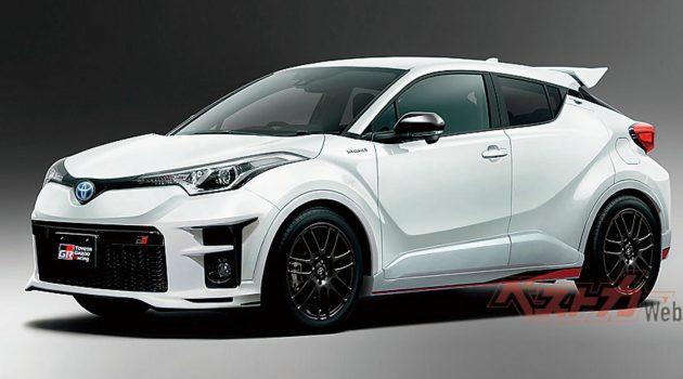 C-HR 也有性能版! Toyota C-HR GR 最大马力突破 200 hp!