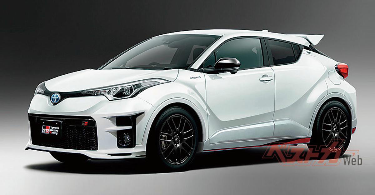 C-HR 也有性能版! Toyota C-HR GR 最大马力突破 200 hp! | automachi.com