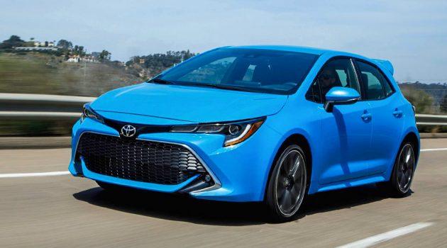 Mazda3 与 Civic 劲敌! 2019 Toyota Corolla 掀背版细节公布!