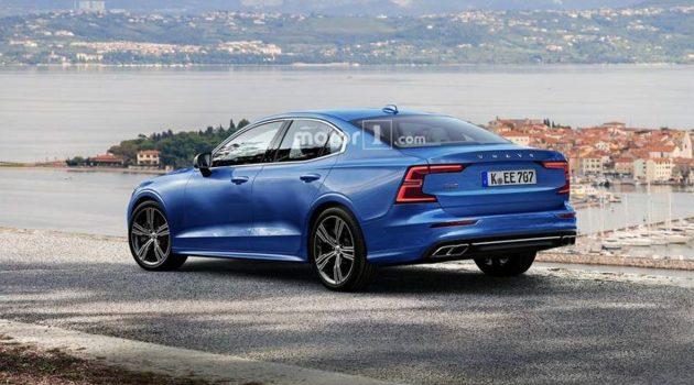 新一代 Volvo S60 车尾长这样!帅气不?
