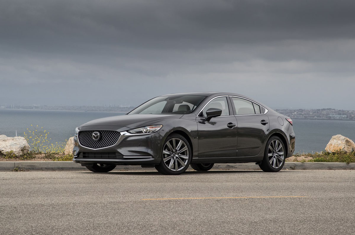 2018 Mazda6 Turbo 0-97 只需要6.4秒!