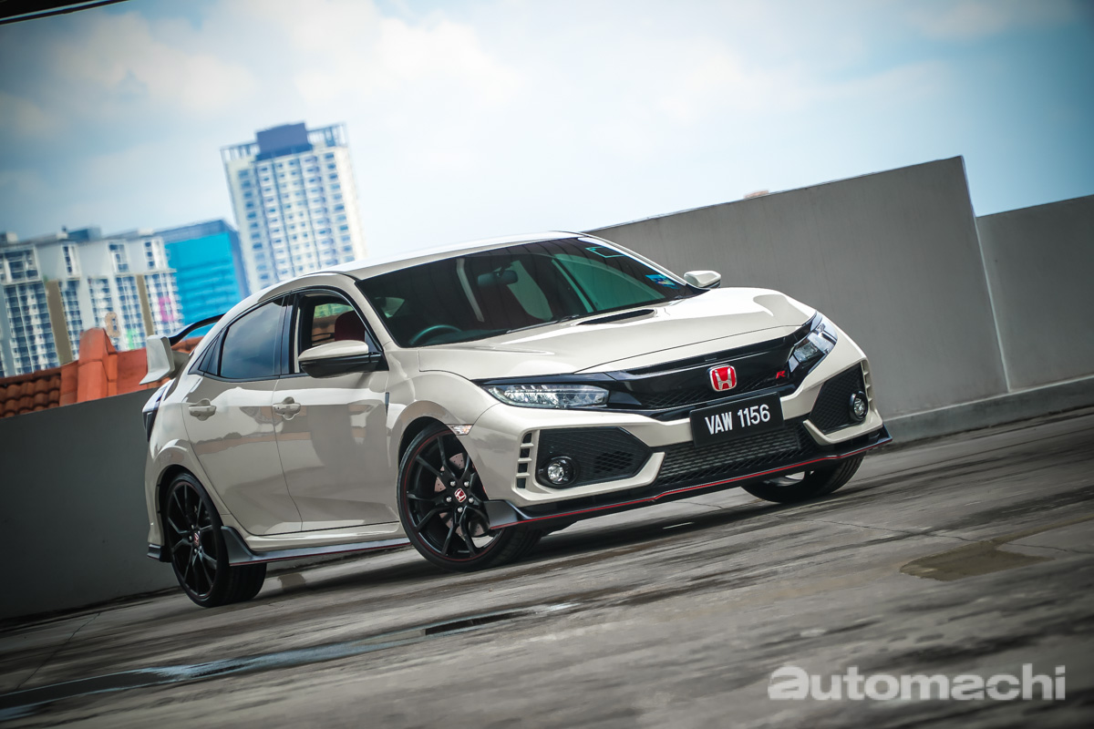 2018 Honda Civic Type R ,一台可以日常用的性能车!