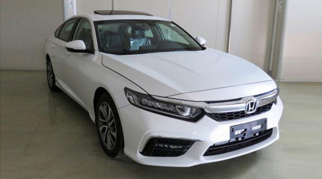 Accord 兄弟车,2018 Honda Inspire 量产版正式曝光!