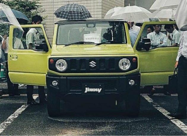 2019 Suzuki Jimny 曝光!20年终于大改款了! | automachi.com