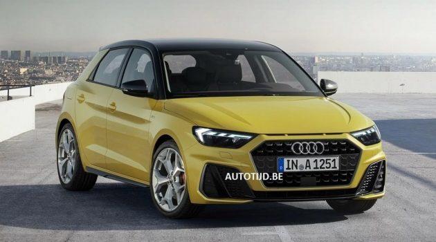 2019 Audi A1 长这样!发表前夕官图曝光!