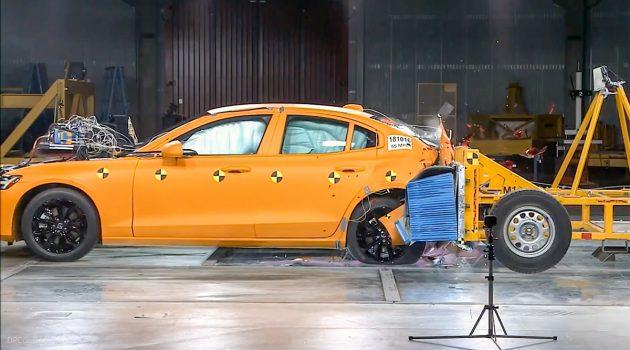 我们不一样! 2019 Volvo S60 后方撞击测试曝光!