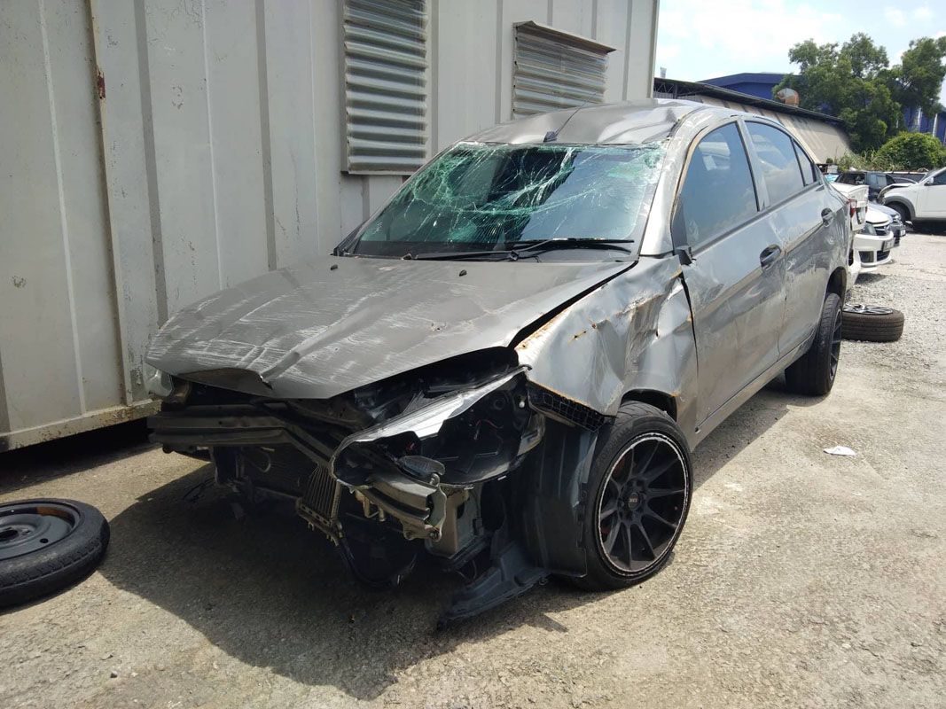 2016 Proton Saga 安全性如何?图片足以证明!