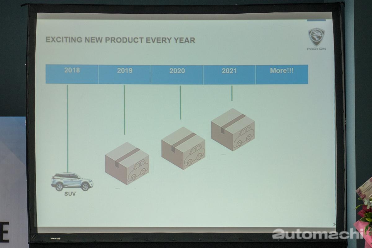 Proton 确定今后每年都会有最少一款新车型登场!
