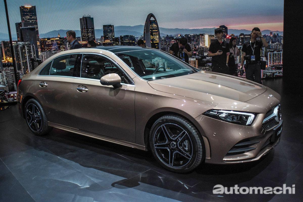 中国市场专属的A200L Sedan