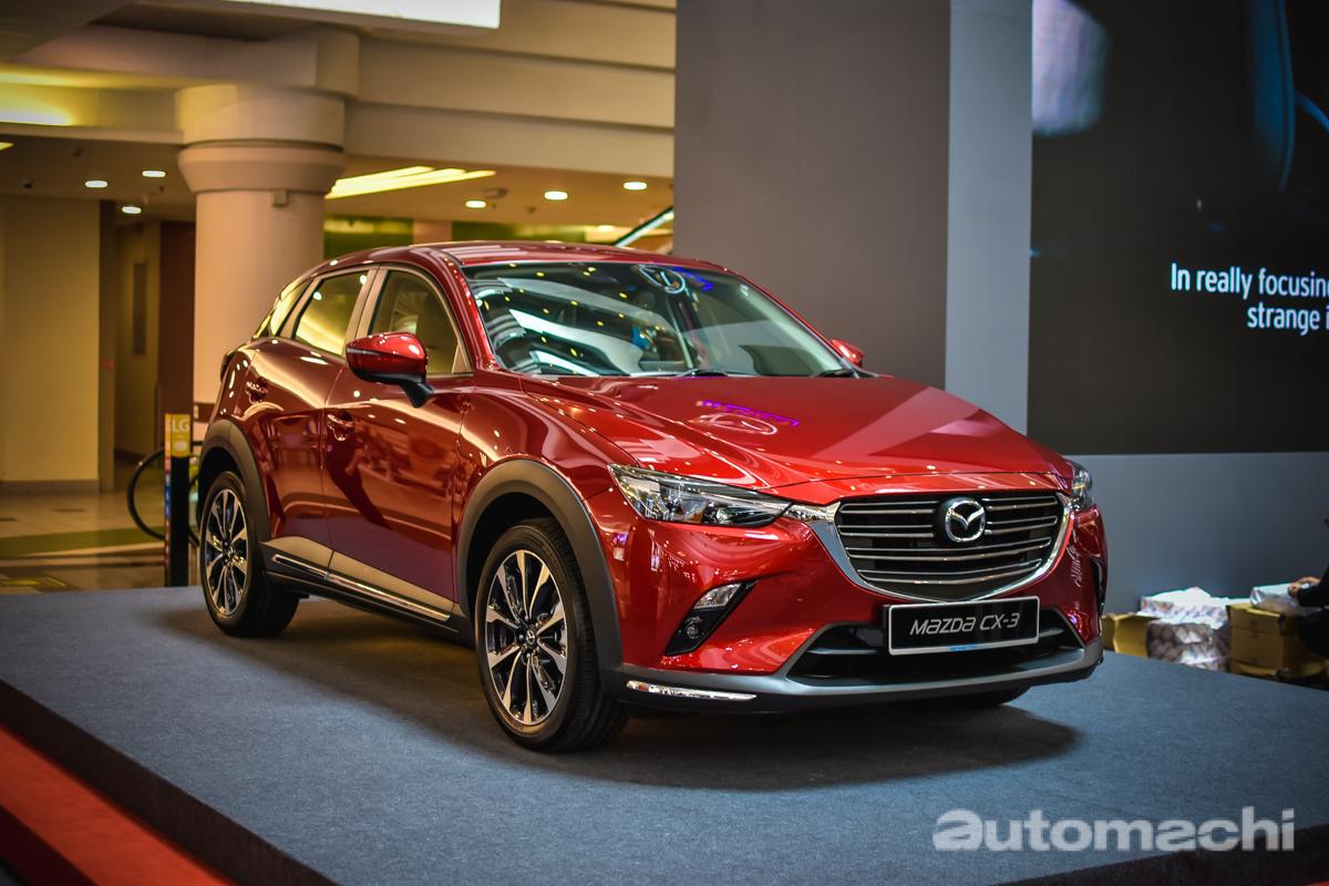 Mazda Malaysia 在1U购物中心举行Road Show,小改款 CX-3 等着你!
