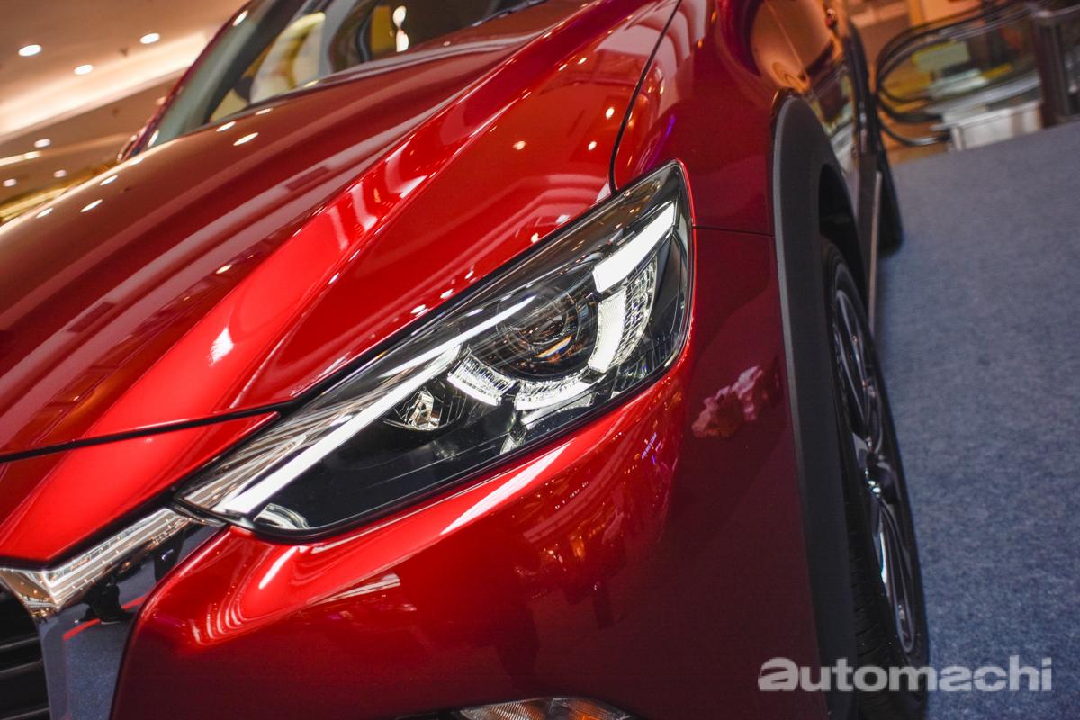 小改款 Mazda CX-3 登陆我国,预计售价 RM 121,134 !