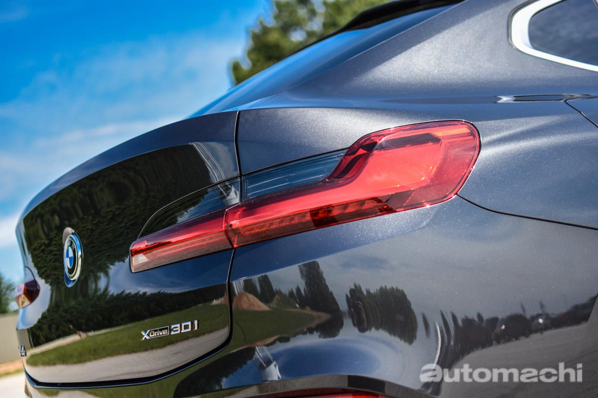 2018 BMW X4 xDrive30i ,给你一个独特的选择!