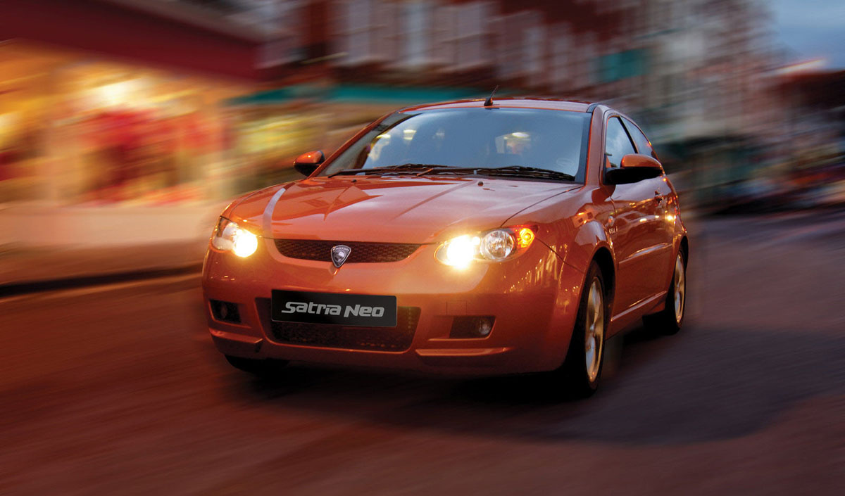 经典车款回顾: Proton Satria Neo