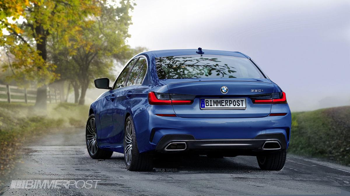 再见传统手刹, BMW 3 Series G20 外形长这样!