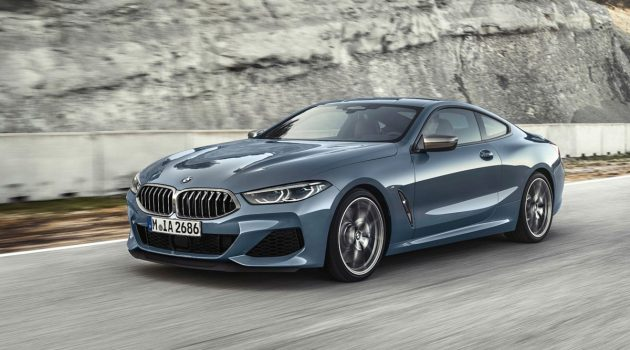 523 hp 性感旗舰轿跑, BMW 8 Series 正式发布!