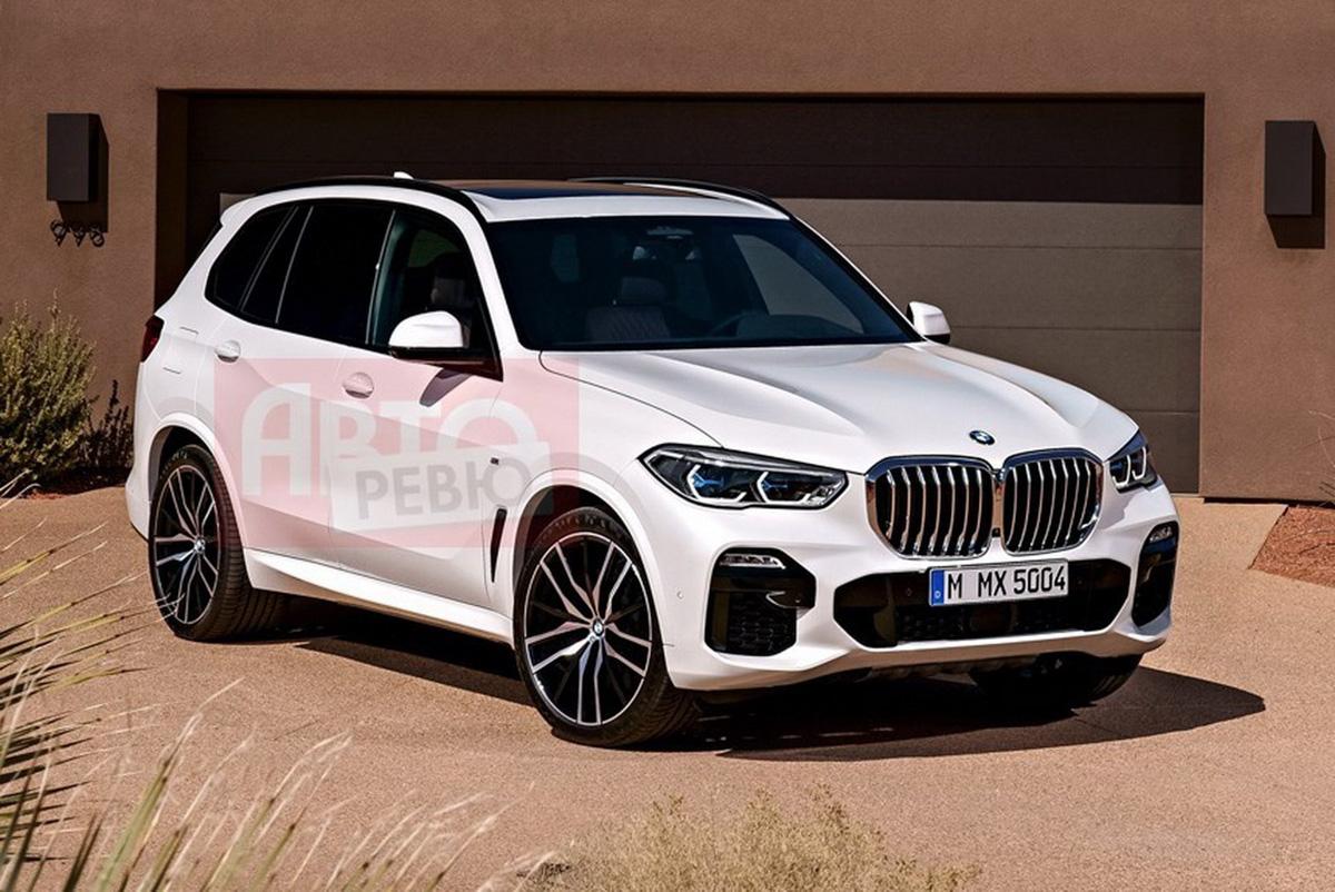 不一样的车尾!2019 BMW X5 官图泄露?