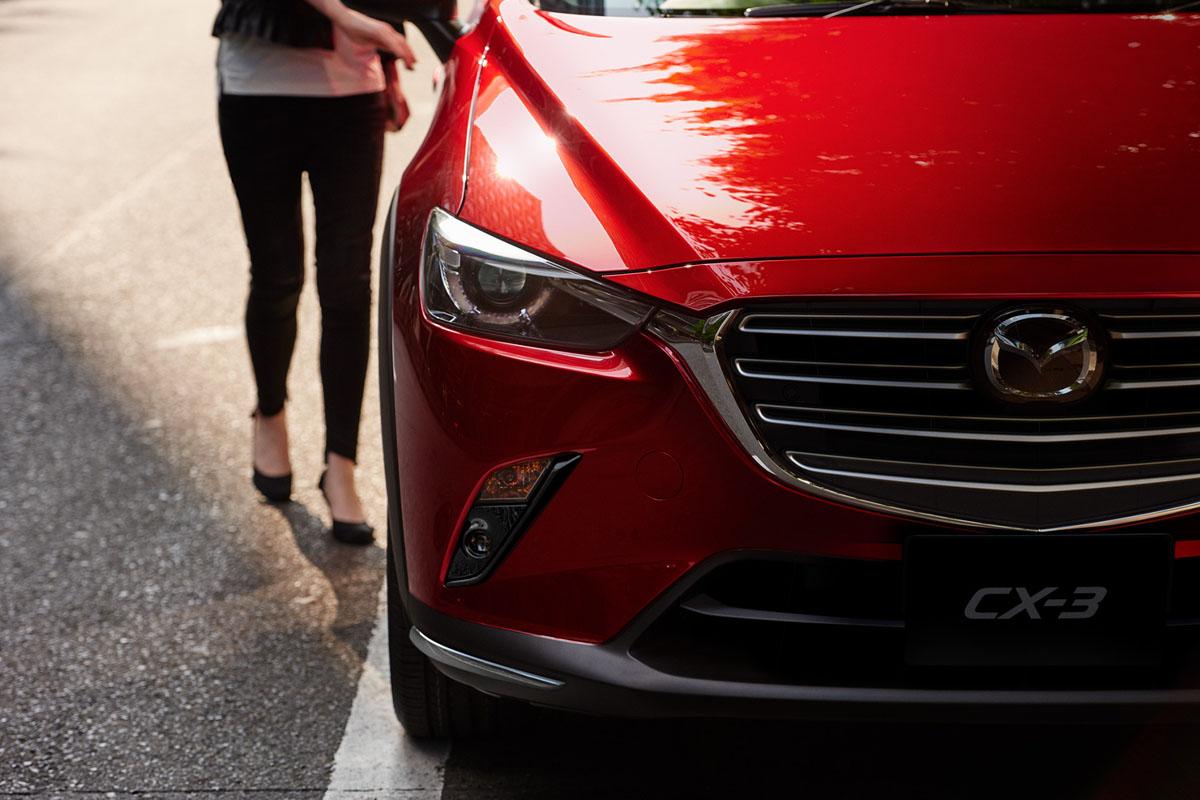 2018 Mazda CX-3 正式公开预定!预计安全配备很丰富!