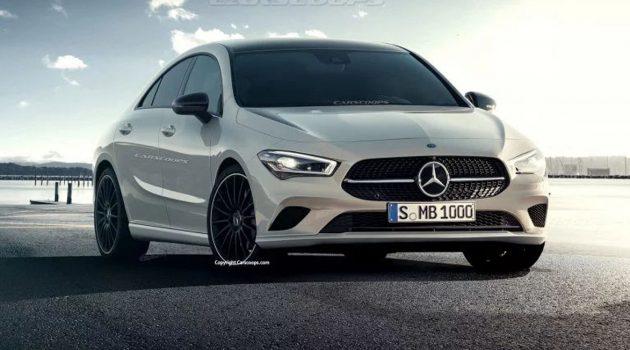 2019 Mercedes-Benz CLA 长这样你觉得怎么样?