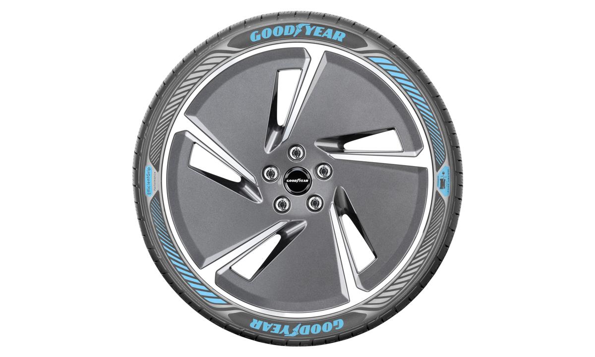 专为电动车开发, Goodyear 展示全新轮胎技术!