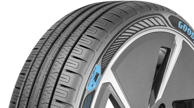 专为节能而开发, Goodyear 展示全新轮胎技术!