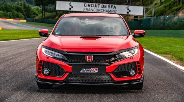 Honda Civic Type R 再创最速前驱纪录,称霸另一赛道!