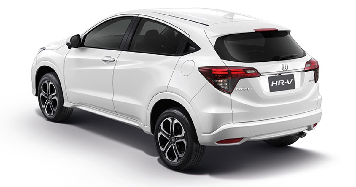 2018 Honda HR-V 泰国正式登场,新增主动安全配备!