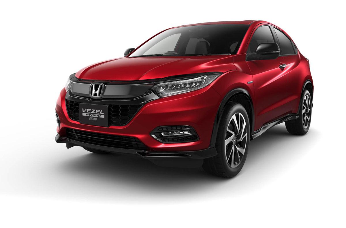 2018 Honda HR-V 规格曝光,新增加 RS 版本!