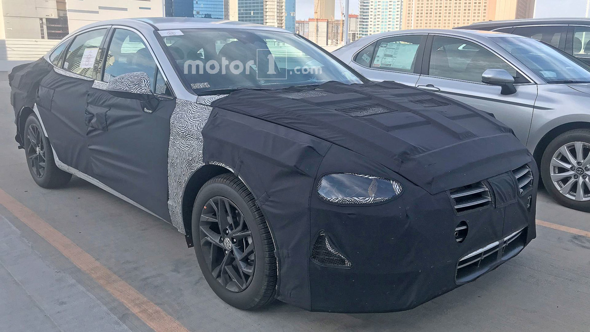 新一代 Hyundai Sonata 现身,流体雕塑3.0来了!