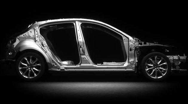 Mazda Skyactiv-Body ,谁说日系不安全?