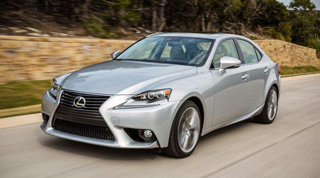 Lexus IS 与 GS 面临腰斩?原因竟然是因为它!