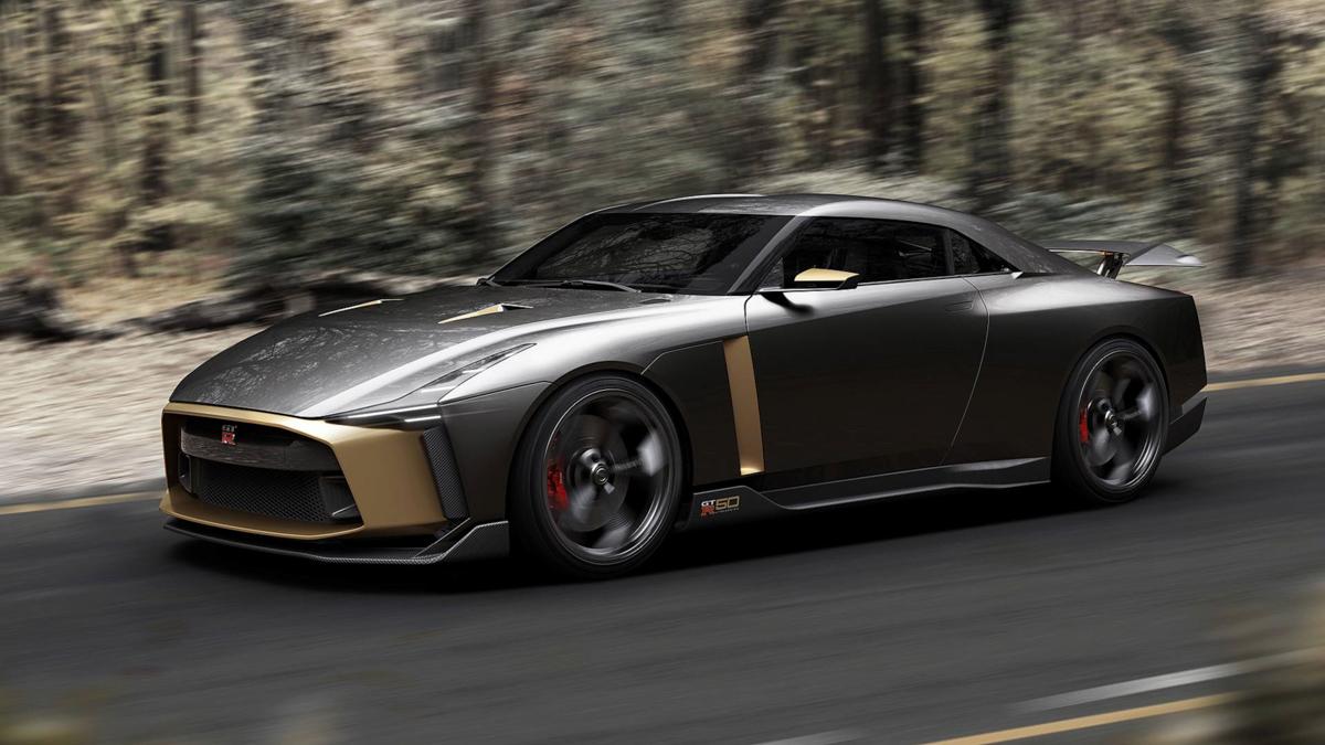 新一代东瀛战神? Nissan GT-R50 发布!