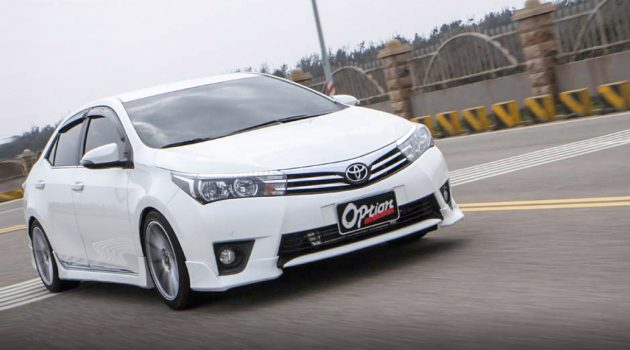自挂涡轮 Toyota Corolla Altis ,最大马力 190 hp !